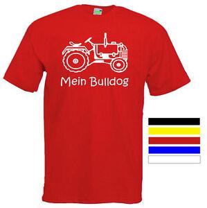 MEIN-BULLDOG-Kinder-T-Shirt-Schlepper-Trecker-Traktor-Gr-104-164-514-0-04
