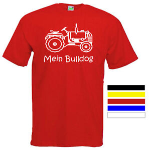 MEIN-BULLDOG-Kinder-T-Shirt-Schlepper-Trecker-Traktor-Gr-104-164-Nr-514