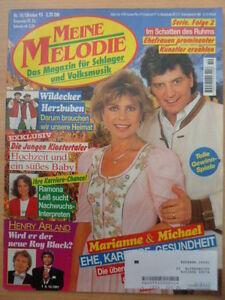 MEINE-MELODIE-10-1995-Marianne-Michael-Henry-Arland-Wildecker-Herzbuben