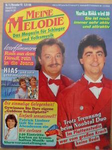MEINE-MELODIE-11-1993-Naabtal-Duo-Roekk-wird-80-HIAS-Bibi-Johns-Cindy-Berger