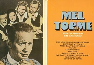 MEL-TORME-WITH-THE-MELTONES-AND-ARTIE-SHAW-SAME-EVEREST-12-LP-L8201