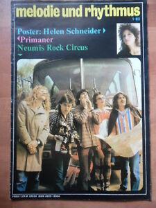 MELODIE-UND-RHYTHMUS-1-1983-Neumis-Rock-Circus-Helen-Schneider-Primaner