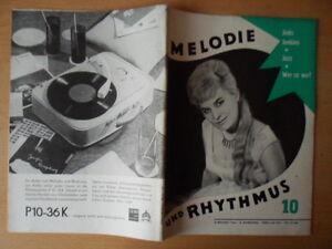 MELODIE-UND-RHYTHMUS-10-1964-Arite-Mann-Manfred-Krug-Jinks-Jenkins-Karel-Vlach