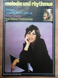 MELODIE-UND-RHYTHMUS-3-1981-Ina-Maria-Federowski-NEUMIS-ROCK-CIRCUS-Don-Cherry