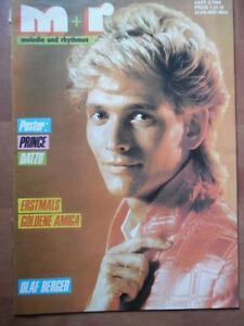 MELODIE-UND-RHYTHMUS-3-1988-Olaf-Berger-PRINCE-Warlock-DATZU