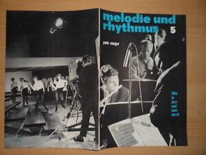 MELODIE-UND-RHYTHMUS-5-1967-Pete-Seeger-Floete-Roswitha-Neubarth-Team-4-im-Funk