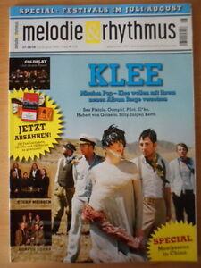 MELODIE-UND-RHYTHMUS-7-8-2008-KLEE-Stern-Meissen-Coldplay-Corvus-Corax-SILLY