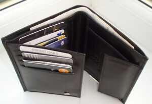 MENS-NEW-HIGH-QUALITY-SOFT-LUXURY-LEATHER-WALLET-BLACK
