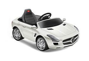 Mercedes benz sls childrens kids ride on electric remote for Mercedes benz electric car for kids