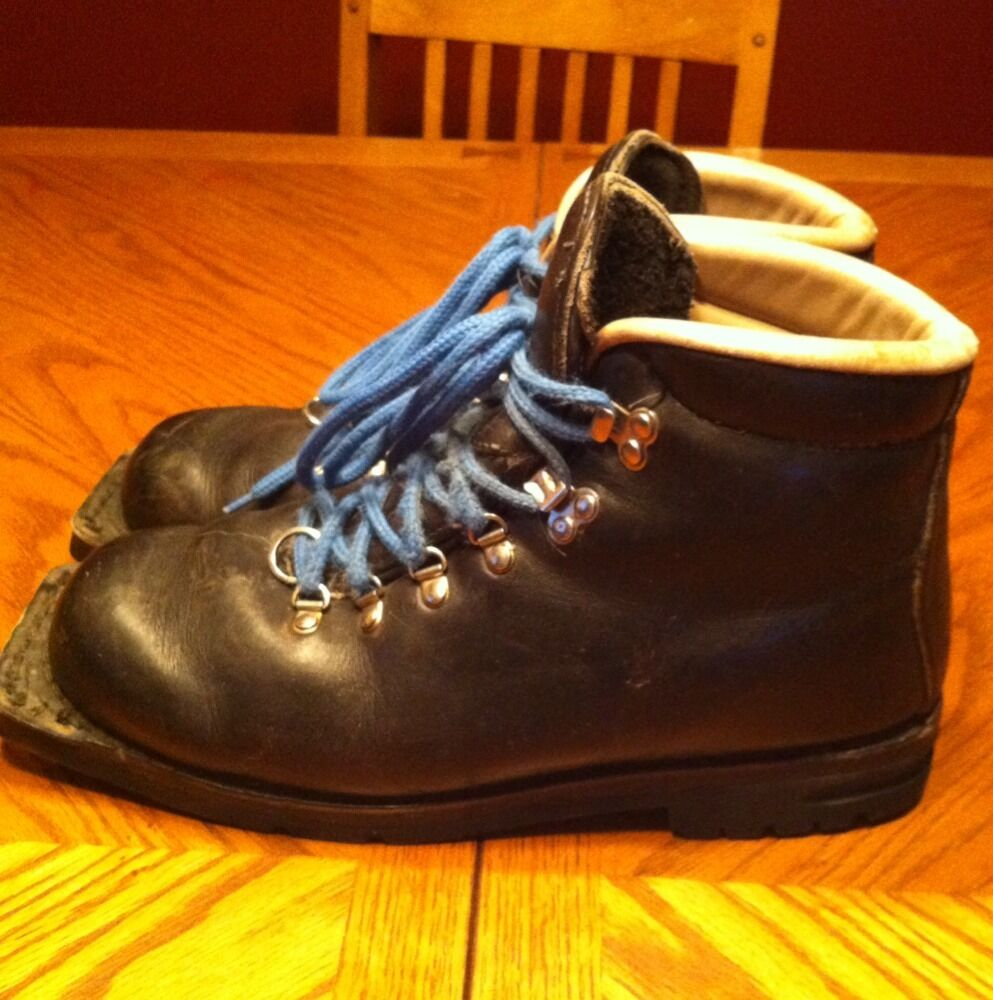 Merrell Leather Backcountry Cross Country Ski Nordic Boots 3 Pin Mens