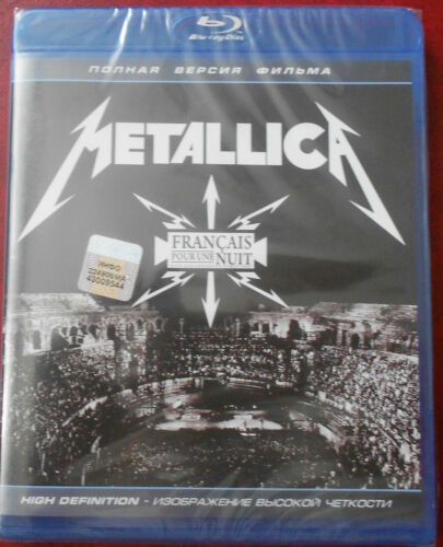 METALLICA FRANCAIS POUR UNE NUIT BLU-RAY in DVDs & Movies, DVDs & Blu-ray Discs | eBay