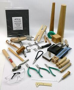 metalsmith tools kit beginners apprentice metalsmithing jewelry making tool set ebay. Black Bedroom Furniture Sets. Home Design Ideas