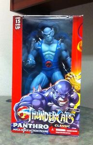 Thundercats Figures on Mezco Thundercats Classics Mega Scale Panthro 14 Inch Action Figure