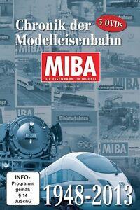 MIBA-Chronik-der-Modelleisenbahn-65-Jahre-MIBA-1948-2013-5-DVDs