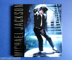 MICHAEL-JACKSON-MINT-UK-1ST-ED-HB-BOOK-1992-DANCING-THE-DREAM-RARE-STUNNING-COPY