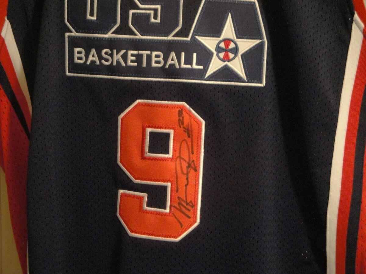 Michael Jordan Auto Autographed Signed Jersey