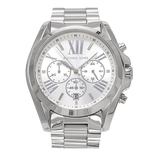 MICHAEL KORS WATCH for MEN * Brand New * Silver * Multi-Function * MK5535