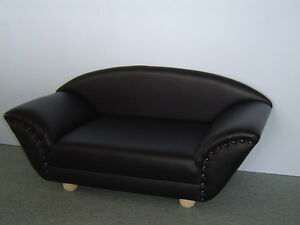 micky hundesofa hundebett hundecouch katzensofa bett kunstleder ebay. Black Bedroom Furniture Sets. Home Design Ideas