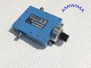 MICROWAVE CONTINUOUSLY VARIABLE COAXIAL ATTENUATOR SMA KU-BAND ARRA 20 dB X - Deutschland - MICROWAVE CONTINUOUSLY VARIABLE COAXIAL ATTENUATOR SMA KU-BAND ARRA 20 dB X - Deutschland