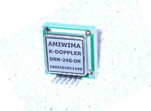 MICROWAVE DOPPLER TRANSCEIVER 24 GHZ K-Band 2 Flat Antennas VCO Oscillator FMCW - <span itemprop='availableAtOrFrom'>Darstein, Deutschland</span> - MICROWAVE DOPPLER TRANSCEIVER 24 GHZ K-Band 2 Flat Antennas VCO Oscillator FMCW - Darstein, Deutschland