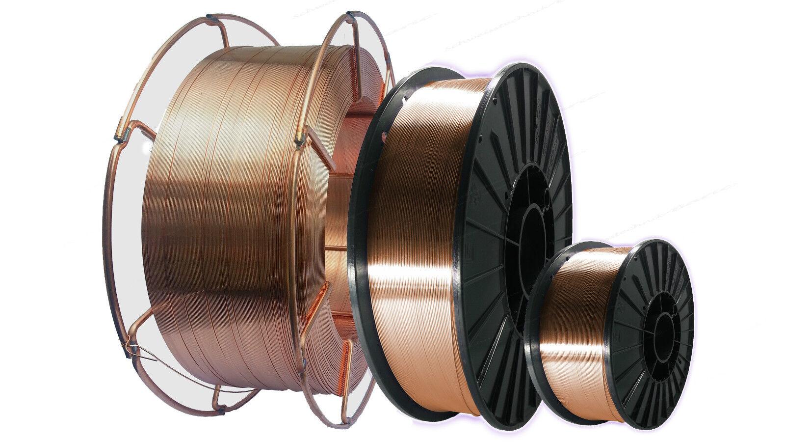 Schweißdraht Stahl SG2 für Schutzgas 1,0mm 15kg MAG Schweißen Draht Metallbau