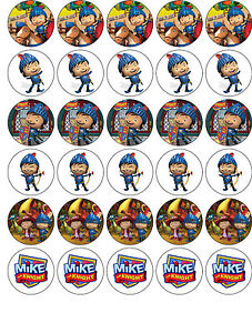 Mike The Knight Cake Decorations