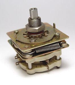MIL-Spec-Drehschalter-Schalter-2-Stellungen-2x-NC-2x-NO-keramisch-NOS