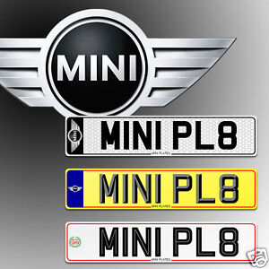 MINI-BMW-Number-Plates-Show-Plates-CAR-PLATES