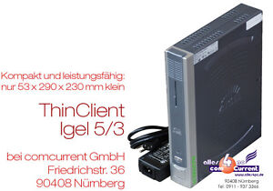 MINI-PC-COMPUTER-THIN-CLIENT-IGEL-564LX-INKLUSIVE-8-GB-CF-CARD-DVI-VGA-12V-TC15