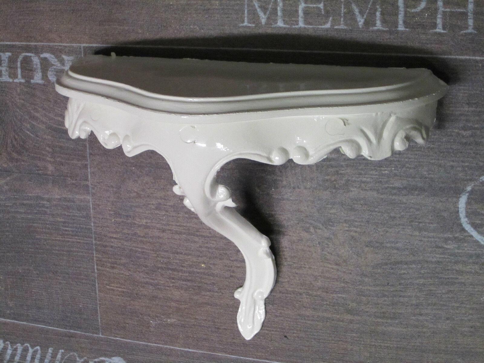 mini console murale console blanc repro baroque 23 5x10x18cm miroir mural 1 ebay. Black Bedroom Furniture Sets. Home Design Ideas