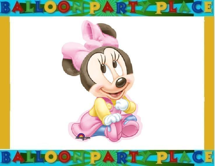Minnie Mouse Balloon Birthday Baby Shower Party Balloon Disney Supplies Decorate