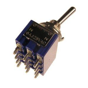 MIYAMA-MS-500P-Kippschalter-4-polig-EIN-EIN-Schalter-4xUM-6A-125V-AC-005679