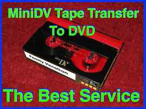 MIniDV to DVD Transfer Service Camcorder HD Mini DV in Specialty Services, Media Editing & Duplication, Photo & Video | eBay