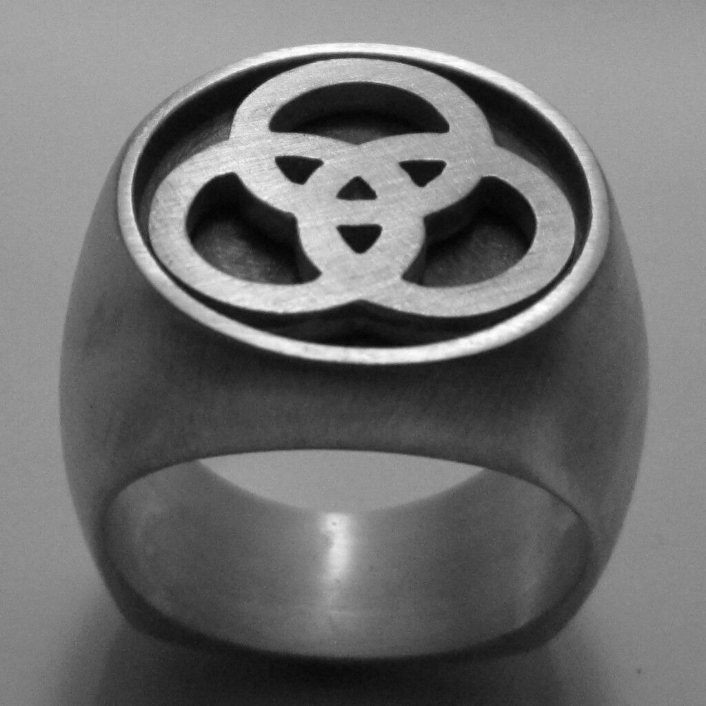 MJG Silver Bonzo Ring 1 John Bonham Sz 10 LED Zeppelin