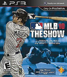 MLB 10: The Show  (Sony Playstation 3, 2...