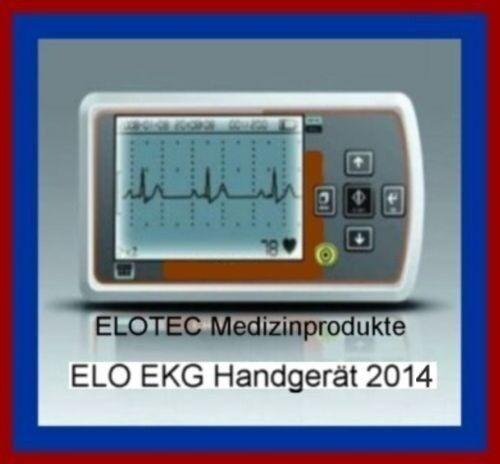 Herzschwäche Ekg Mobiles Ekg Gerät Langzeit Notfall Arzt Patienten Monitor  Bluthochdruck Ebay