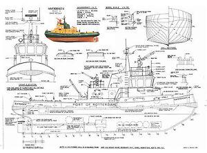 Scale Model Boat Plans