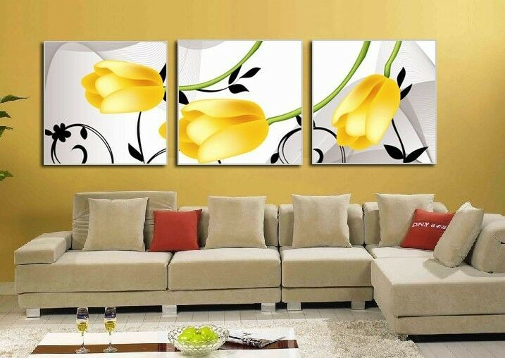 100 Hand Modern Abstract Art Oil Painting on Canvas No Frame Gift