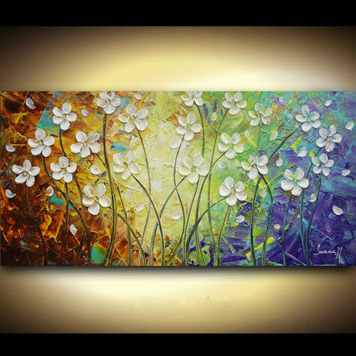 MODERN ABSTRACT HUGE WALL ART OIL PAINTING:(no frame) +gift in Art, Wholesale Lots, Paintings | eBay