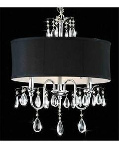 Image Result For Drum Pendant Chandelier With Crystals