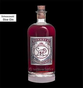 monkey 47 sloe gin schwarzwald die gin elite aus deutschland mit schlehe ebay. Black Bedroom Furniture Sets. Home Design Ideas