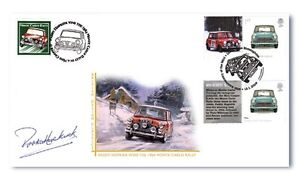MONTE-CARLO-GB-FDC-THE-MINI-SIGNED-BY-PADDY-HOPKIRK