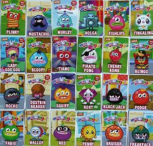 moshling series 2 code cards choose pick your own free p p ebay