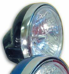 MOTORCYCLE-7-BLACK-ROUND-UNIVERSAL-HEADLIGHT-HEADLAMP