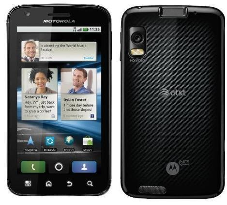 MOTOROLA ATRIX MB860 4G - 16GB - BLACK (UNLOCKED)n SMARTPHONE CELL PHONE AT&T in Cell Phones & Accessories, Cell Phones & Smartphones | eBay
