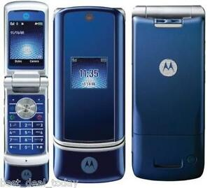 MOTOROLA-KRZR-MOTOKRZR-K1-COSMIC-BLUE-UNLOCKED-CELLULAR-CELL-PHONE-KRAZR