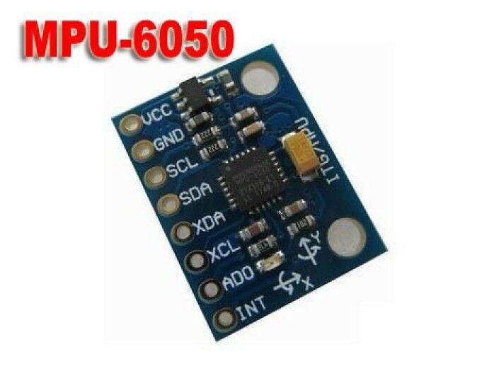 MPU-6050 3 Axis Gyro + 3-Axis Acceleration Aensor Module ...