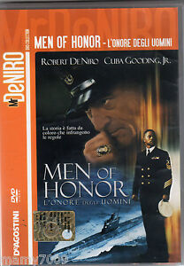 MR DE NIRO=DVD MEN OF HONOR L'ONORE DEGLI UOMINI=DE AGOSTINI COLLECTION