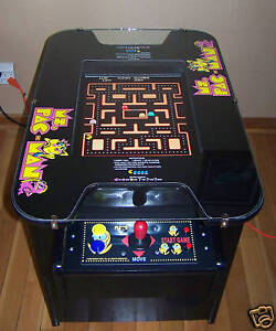 MS PACMAN GALAGA PAC MAN ARCADE COCKTAIL GAME NEW in Collectibles, Arcade, Jukeboxes & Pinball, Arcade Gaming | eBay