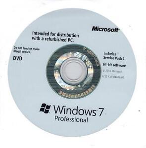Windows 7 Professional 64 Bit SP1